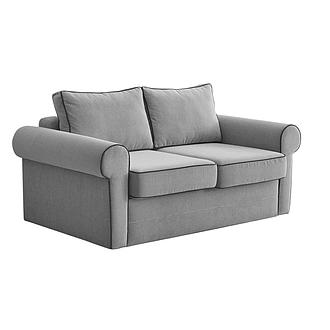 2 Seater Gray sofa