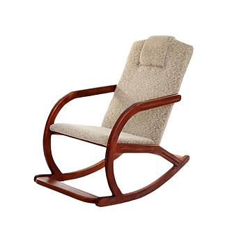 Wooden Leg Rocking Chair